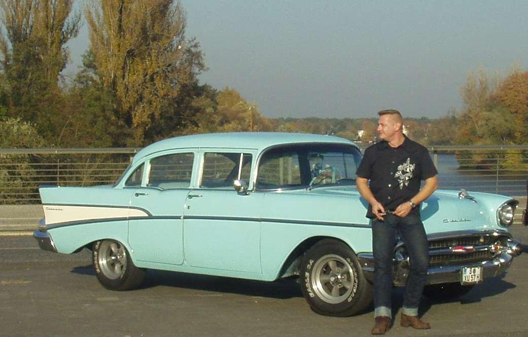 Chevrolet Bel Air 1957... 48 Jahre später immer noch das schöneste, was es auf Rädern gibt...