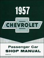 Chevy 1957 Passenger Car Shop Manual